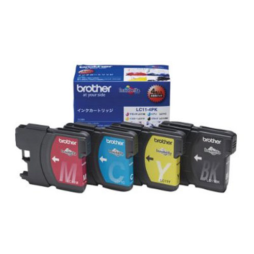 brother LC11-4PK 4色パック 純正品