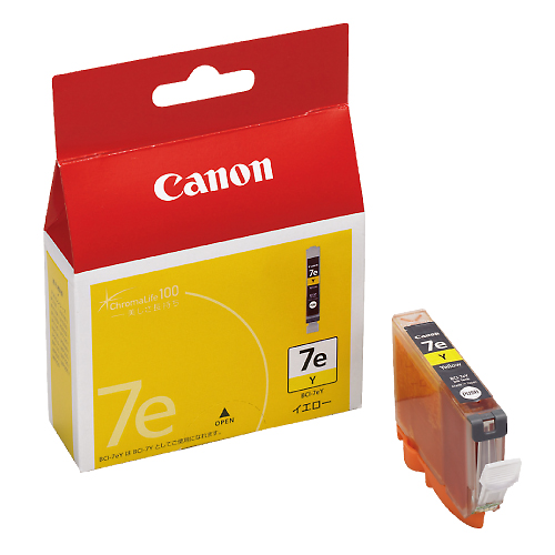 CANON BCI-7eY イエロー 純正品
