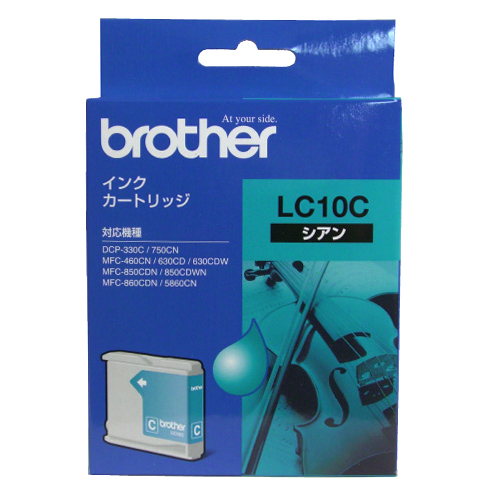 BROTHER LC10C シアン