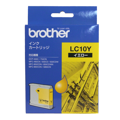BROTHER LC10Y イエロー